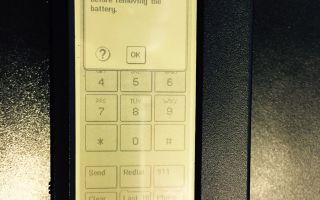 Самый первый сенсорный телефон в мире — ibm simon