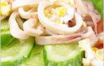 Самый вкусный салат из кальмаров: простые и полезные рецепты