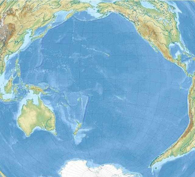 Самое глубокое место на земле и в океане