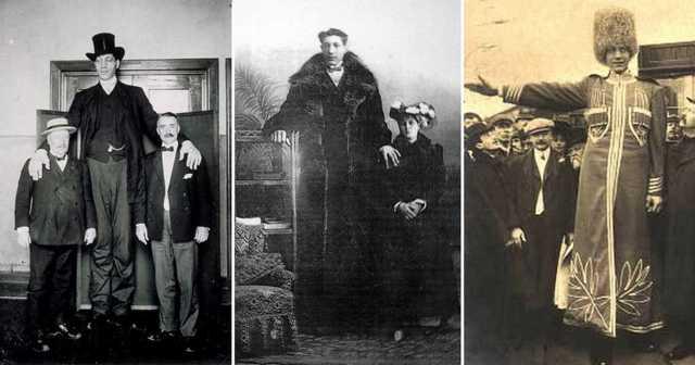 Самые высокие люди в мире и в истории