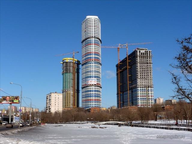 Самый высокий дом в мире, в россии и в москве