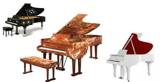 Какие самые дорогие рояли в мире