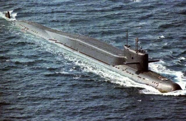 Какая самая большая подводная лодка в мире + фото
