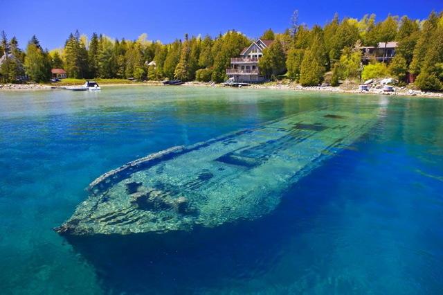 Самое большое из американских озер: водоемы северной и южной америки