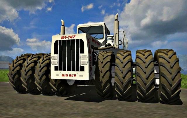 Какой самый большой и мощный трактор в мире