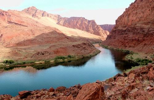 Самые длинная река в сша, протяженность самых больших рек америки
