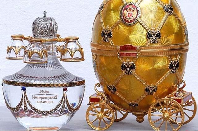 Самая дорогая водка в россии и в мире