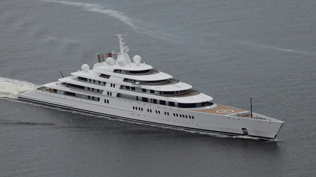 Какая самая большая яхта в мире и ее длина + фото и видео