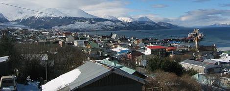 Самый южный город в мире, где она находится на земле