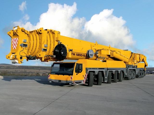 Самые большие краны в мире - гиганты-строители