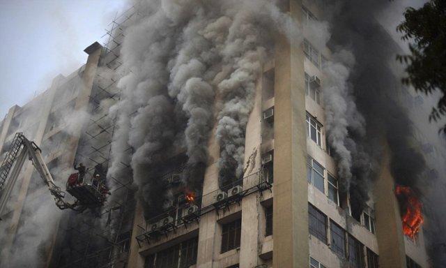 Самые крупные пожары в россии, дата наиболее большого пожара в истории
