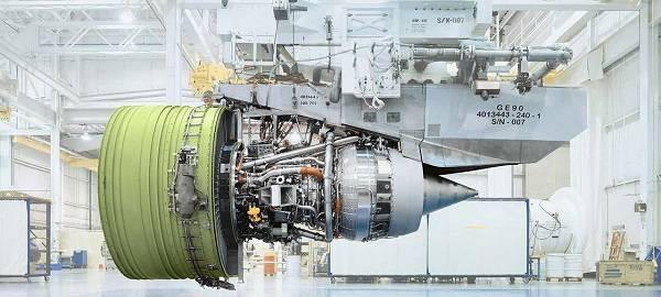 Самый мощный и большой в мире двигатель