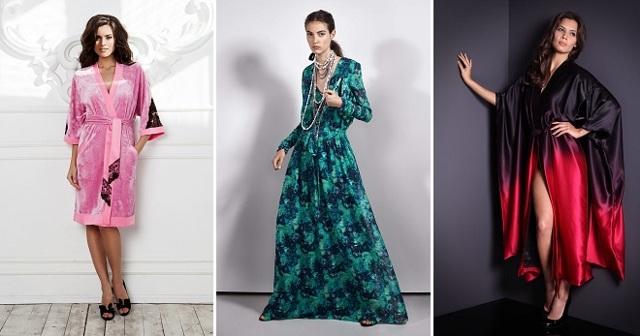 Ткани для пошива женских домашних халатов: обзор популярных вариантов