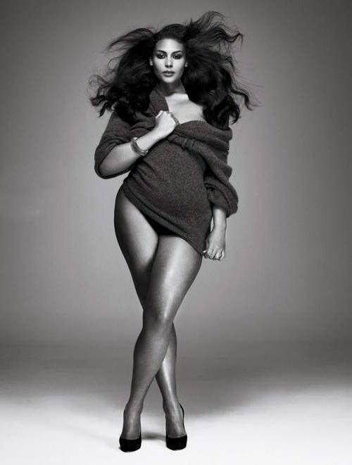 Самая толстая модель: как ее зовут, краткая биография