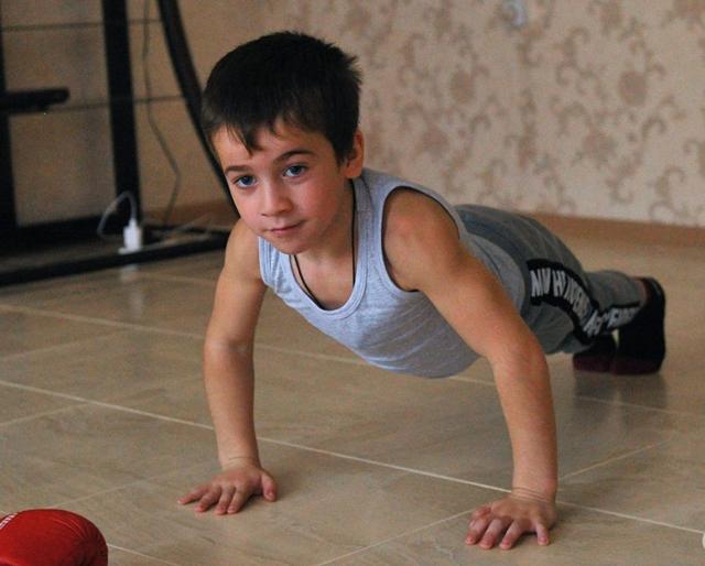 Кто самый сильный ребенок в мире