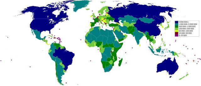 Самые большие страны по территории – топ-10