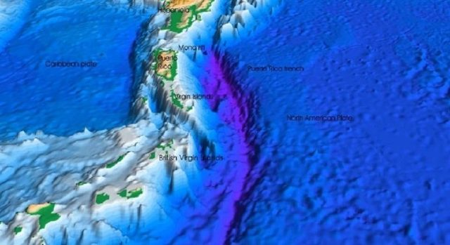 Самая глубокая впадина на земле, в океане и на суше