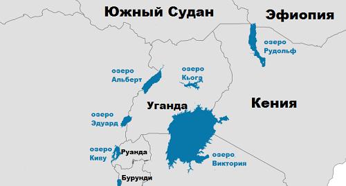 Какое самое большое озеро в мире: список крупных по площади водоемов