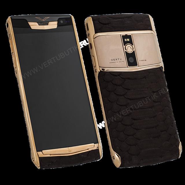 Самый крутой телефон в мире - iphone или vertu?