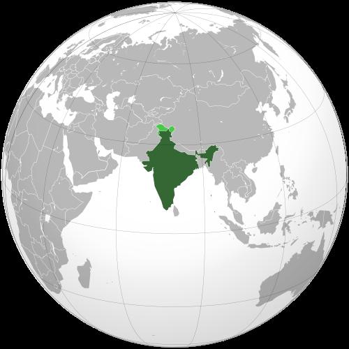 Самые крупные страны по площади, территории и населению